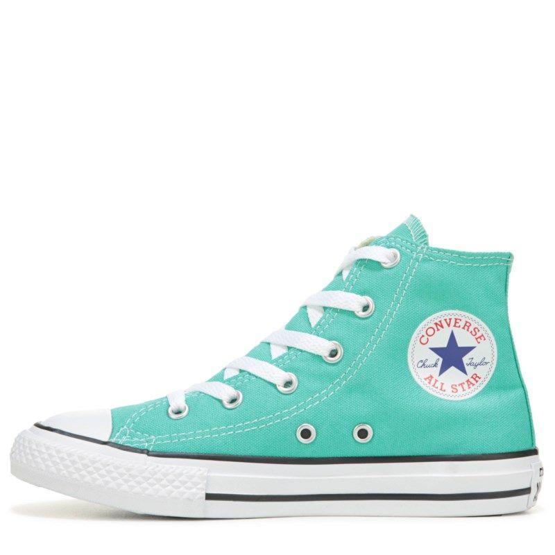 75bb7be408093e Converse Kids  Chuck Taylor All Star Seasonal High Top Sneakers (Menta) -  11.0 M