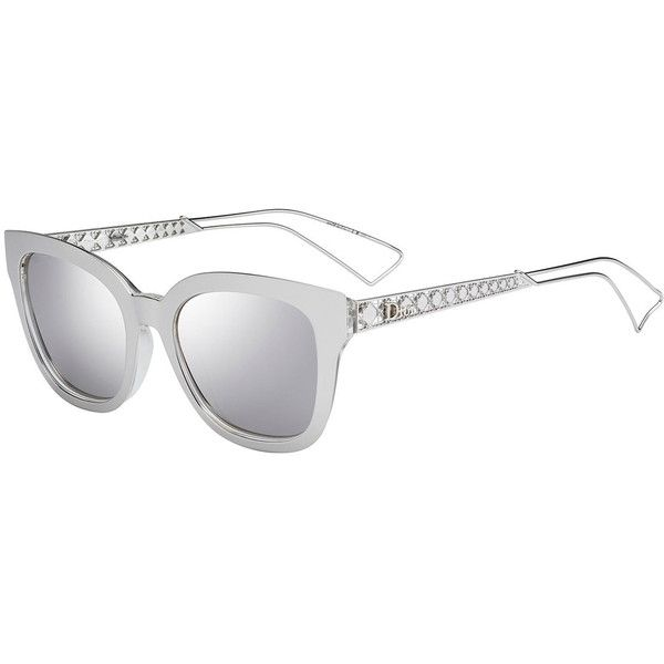 d341979a82 Dior Diorama Caged Mirrored Sunglasses ( 505) ❤ liked on Polyvore featuring  accessories