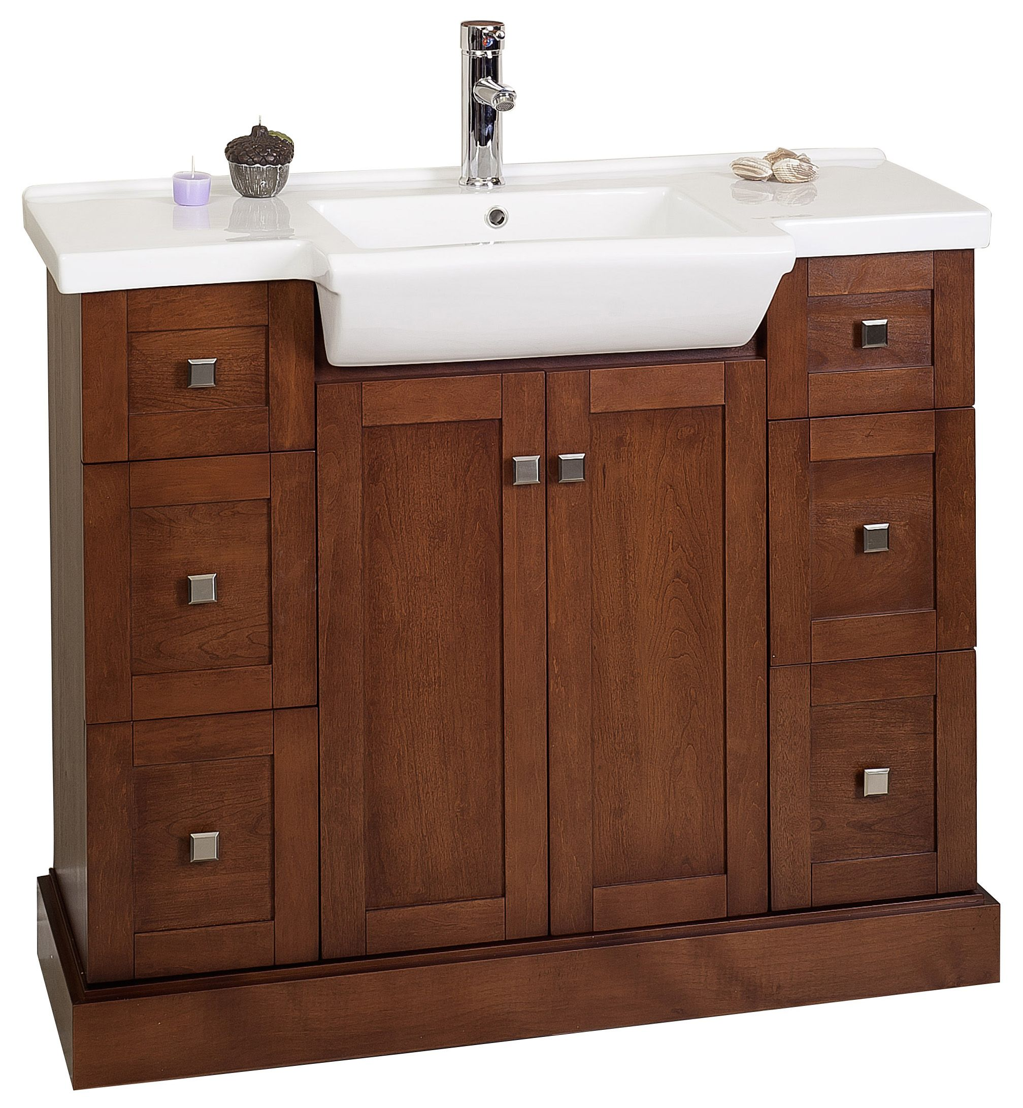 choosing makeup and garden vanity area with sink home single