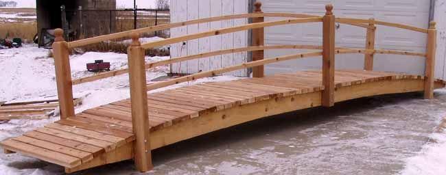 Image result for diy 20 foot bridge | Backyard bridges ...