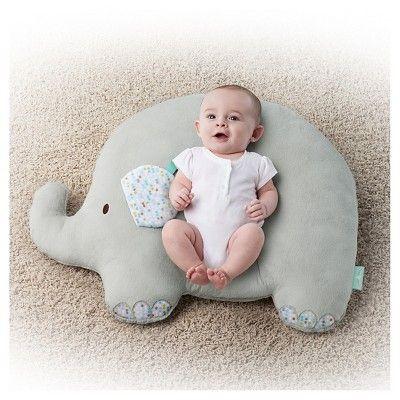 Comfort & Harmony LoungeBuddies Infant Positioner Elephant, Grey