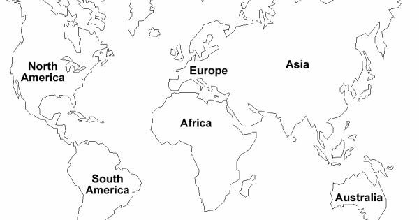Pin by jorge seidel on mesa negra Pinterest - new black and white world map with continents labeled