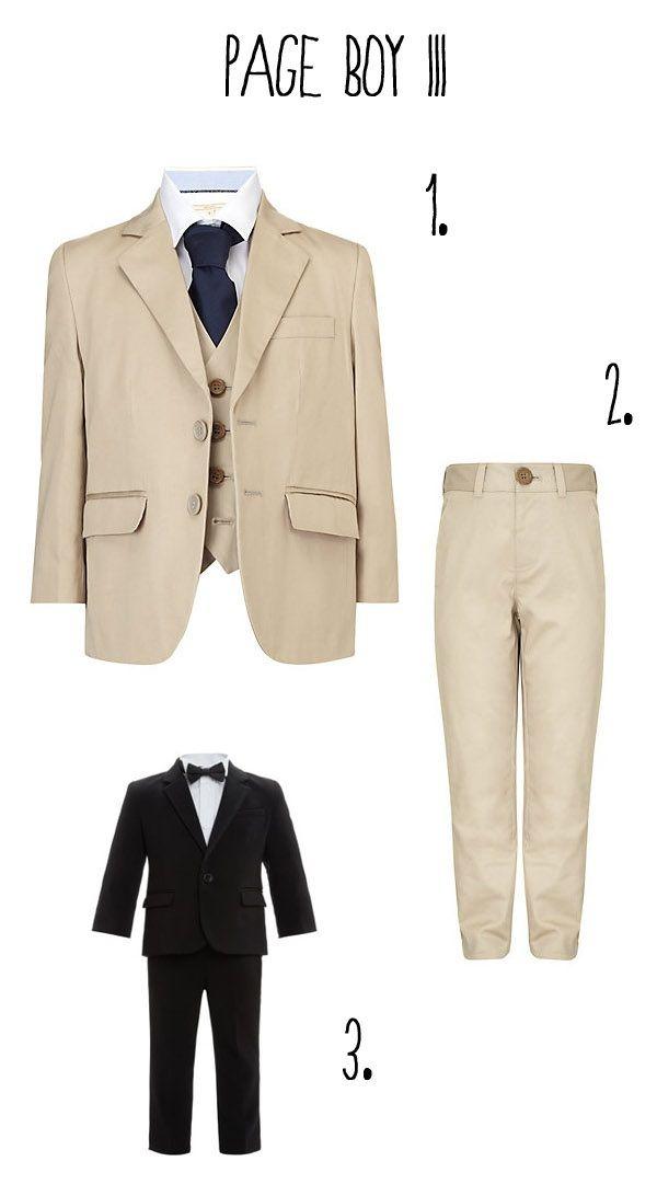 Page Boy Wedding Outfits & Clothes Ideas   Boy fashion, Wedding ...