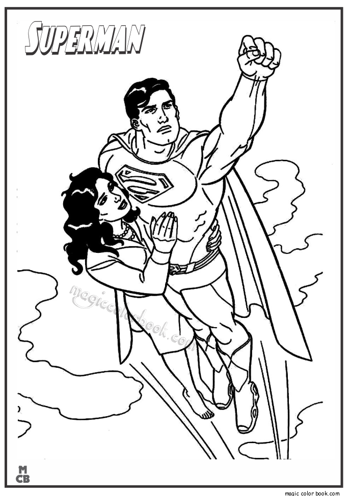 Superman Coloring Pages Printable | Coloring Pictures | Pinterest ...