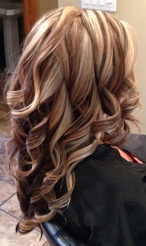 Hair Color Ideas For Blondes Lowlights : 35 hair color ideas 2015 2016 pinterest more