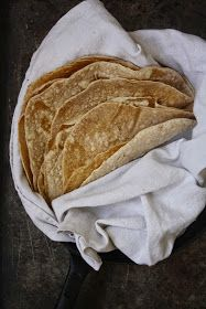 My Green Wonders: Homemade Spelt Tortillas. Domáce špaldové tortilly.