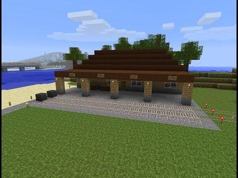 Lets Play Minecraft SP Bau Des Bahnhofes Teil Http - Minecraft hauser video