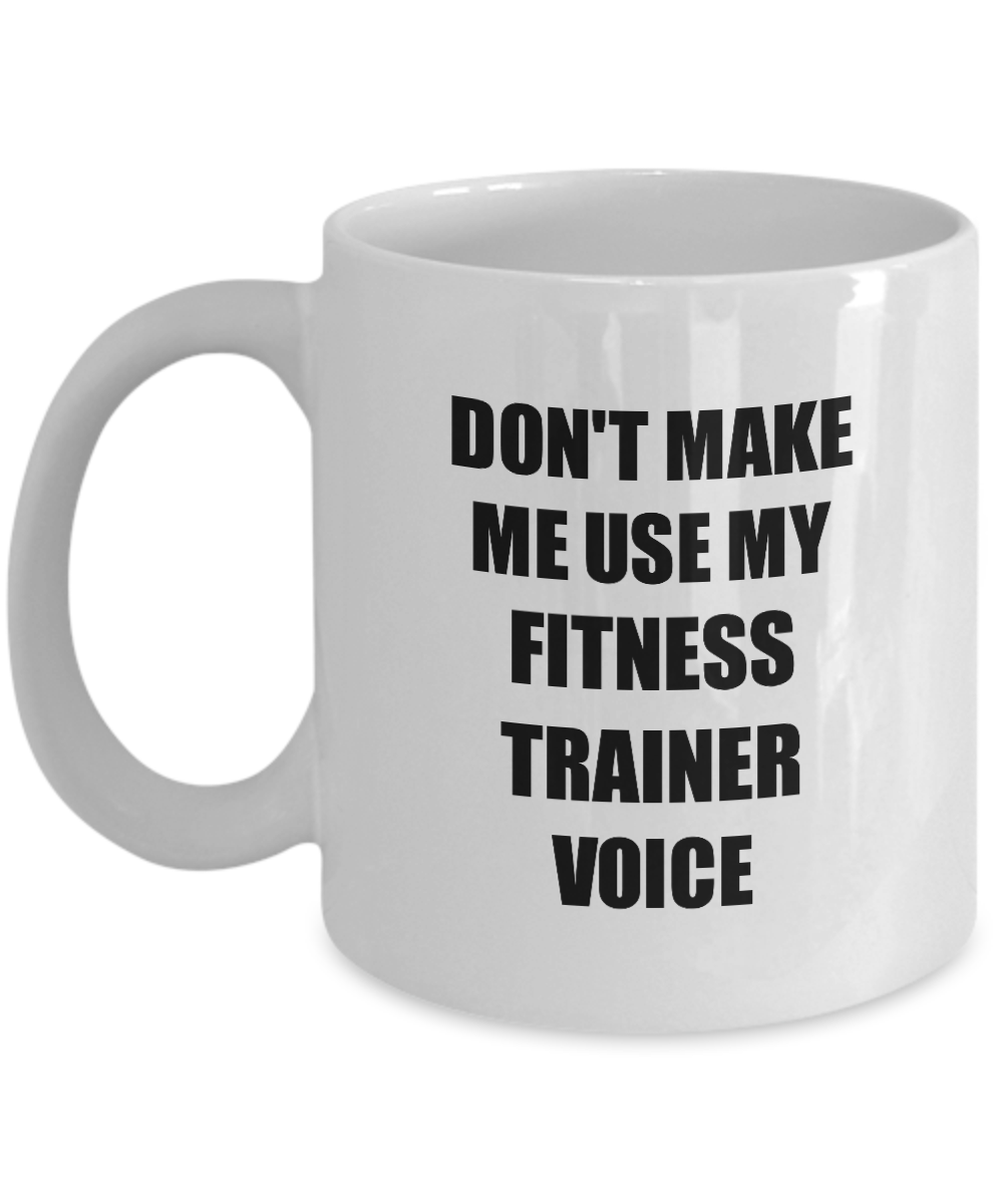 Fitness Trainer Mug Coworker Gift Idea Funny Gag For Job Coffee Tea Cup #FitnessTrainer #Fitness #Tr...