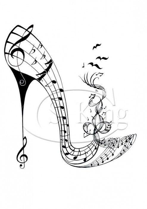 Boogy Shoe Shoe Art Art Music Drawings