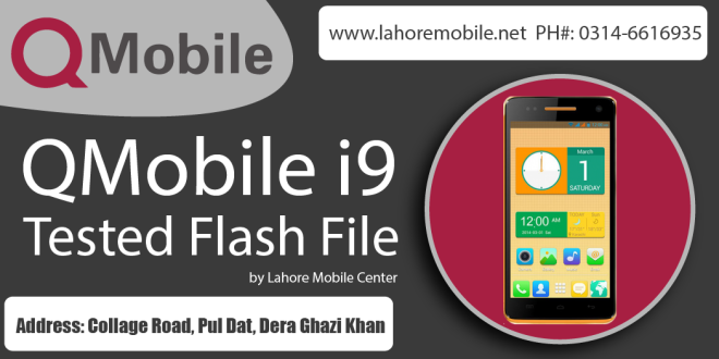 Qmobile i9 Flash File – Dead Boot Repair Done | Mobiles | Boots