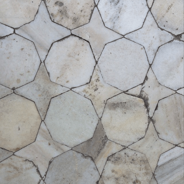Marble Mosaic Floor Red Fort Agra India Patterns Pinterest