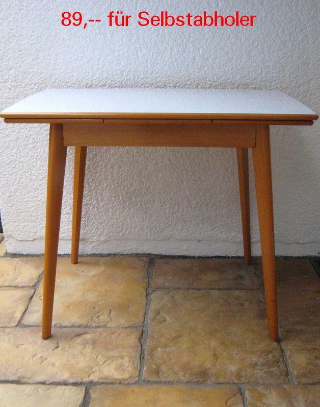60er Jahre Küchentisch mit Schublade | Haben | Pinterest ...