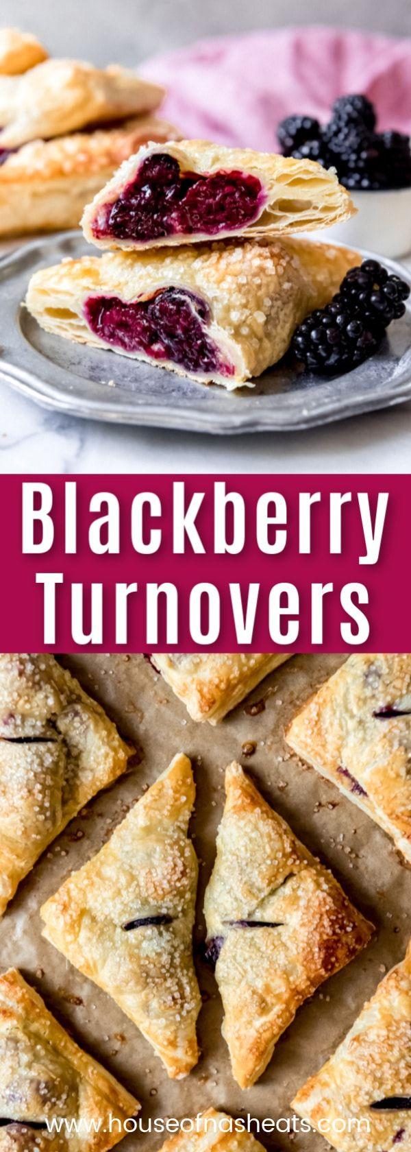 Easy Blackberry Turnovers