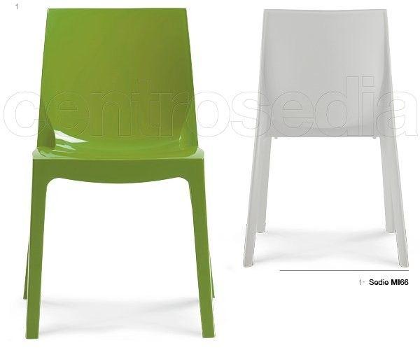 Mimosa sedia polipropilene sedie plastica polipropilene sedie
