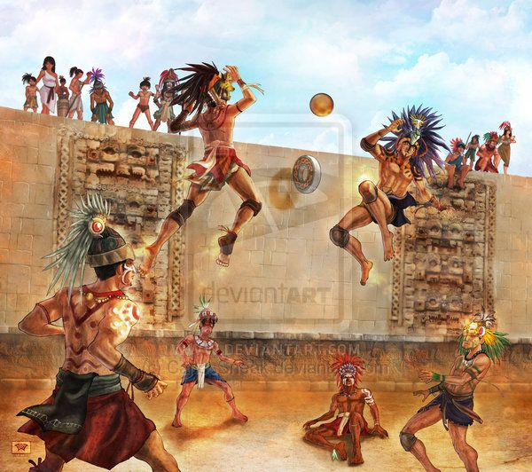 a history of the mesoamerican ball game It is generally believed that there were probably two version of the ball game   the other version was a religious re-enactment of the story of the hero twins in.