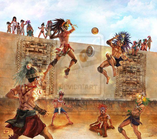 Aztec Ball Game Google Search Mayan Art Aztec Art Aztec Warrior