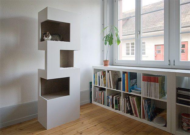 anzeigen designer kratzbaum cat wall design and ideas. Black Bedroom Furniture Sets. Home Design Ideas