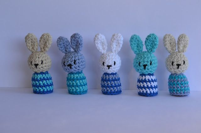 """It is a Amigurumi World: The pattern for the """"Eject Eggs Rabbits"""" ..."""