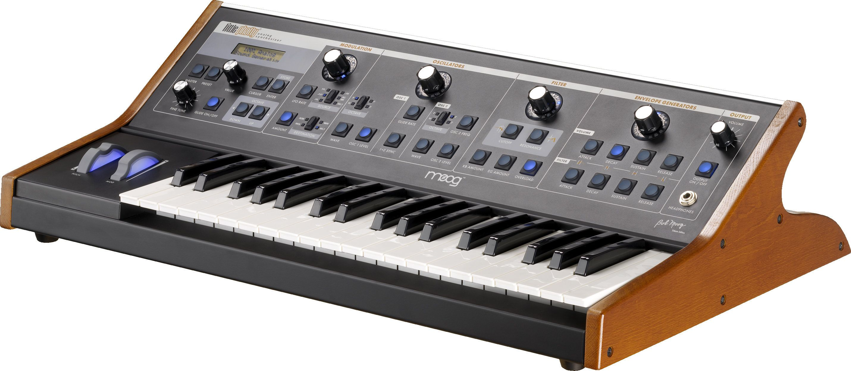 MOOG Little Phatty Tribute Synthesizer Download Drivers