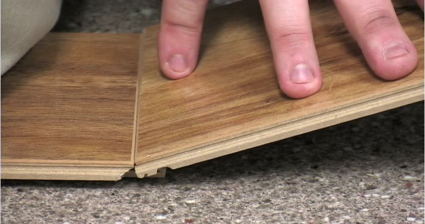 In This Video Adam Demonstrates How To Install Tap N Go Laminate