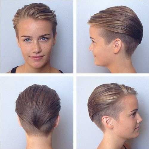 12++ Dark ash blonde pixie cut ideas