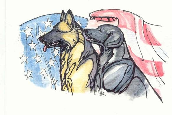 MIlitary Working Dog Team Support Assoc