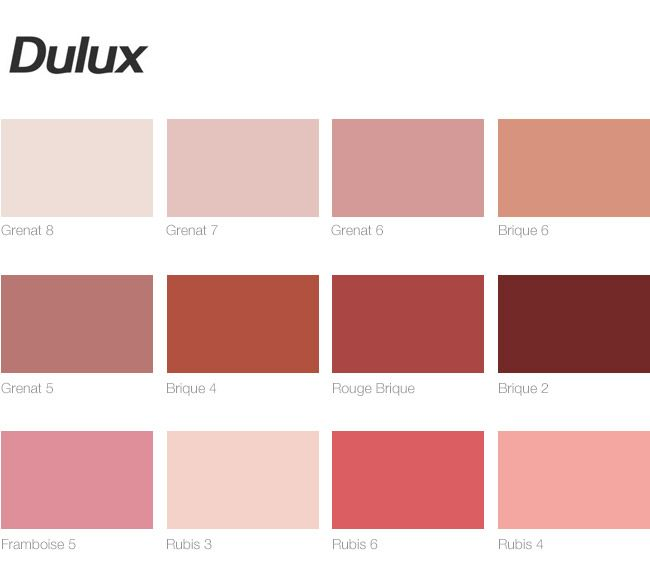 Terracotta blush lipstick nude couleurs chambres et for Peintures dulux nuancier