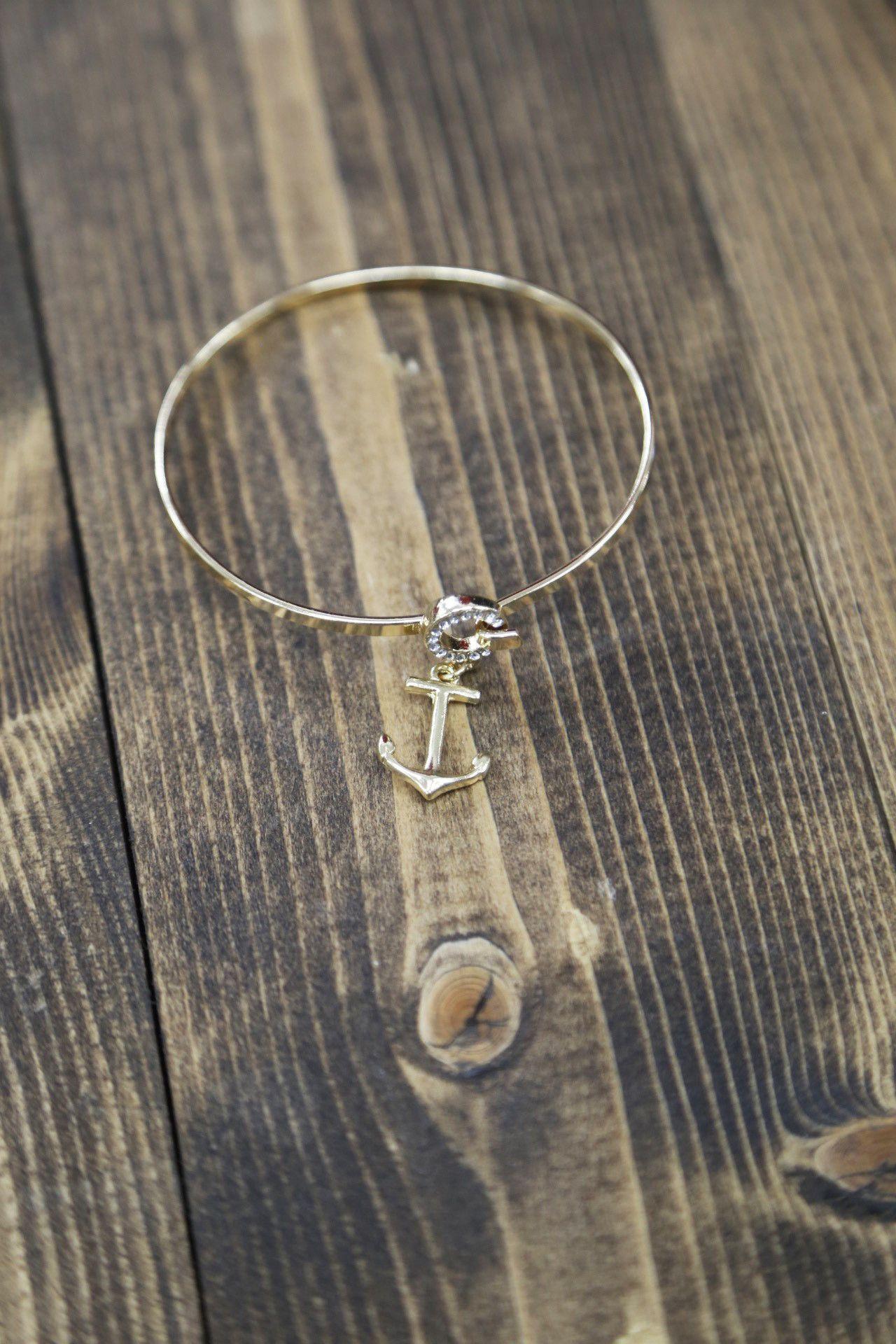 Drop Anchor Bracelet
