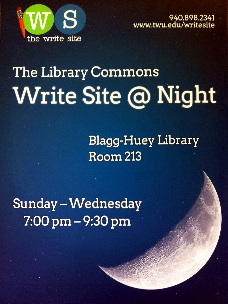 Check It Out: Write On: The Write Site Comes to the Library