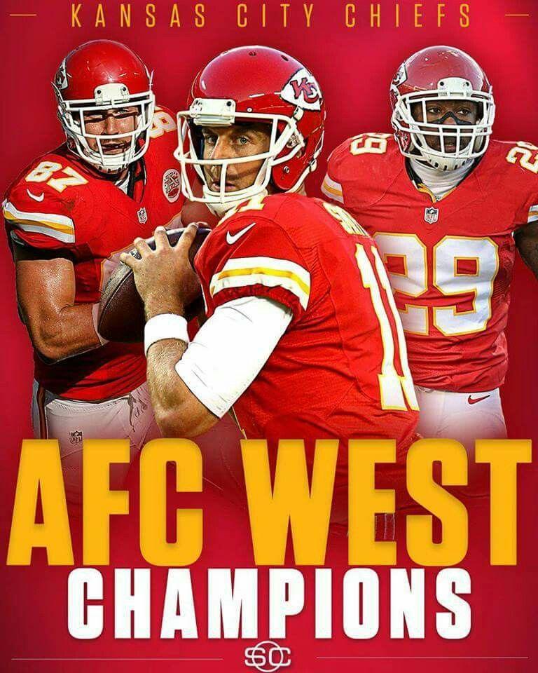 Afc division champs 2016 chiefs Kansas city chiefs