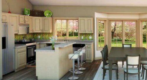 Comedor y cocina modernos buscar con google cocinas for Comedor y cocina modernos