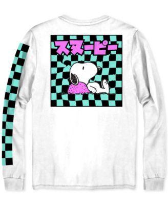 0a0f2dbe8a9a5 Snoopy Kanji Men s Graphic T-Shirt - White 2XL