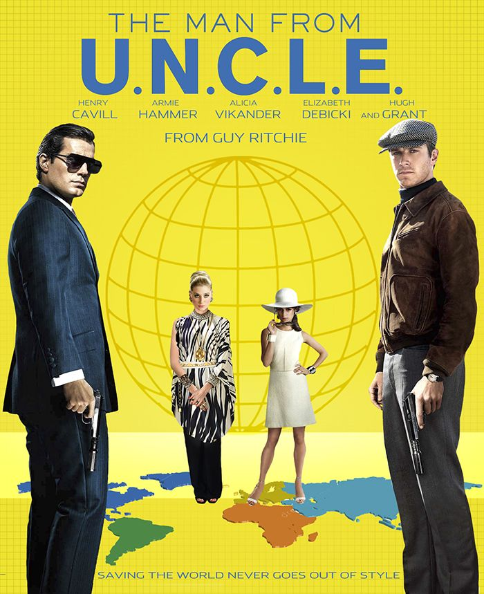The Man From Uncle fan art - collage by jackiejr #TheManfromUNCLE