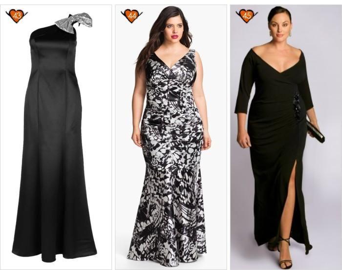 Modelos de vestidos de noche xl