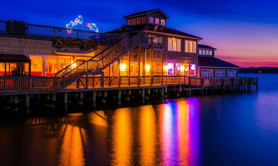 Solomon S Pier Restaurant Island Maryland By Alachianviews Photography On 500px