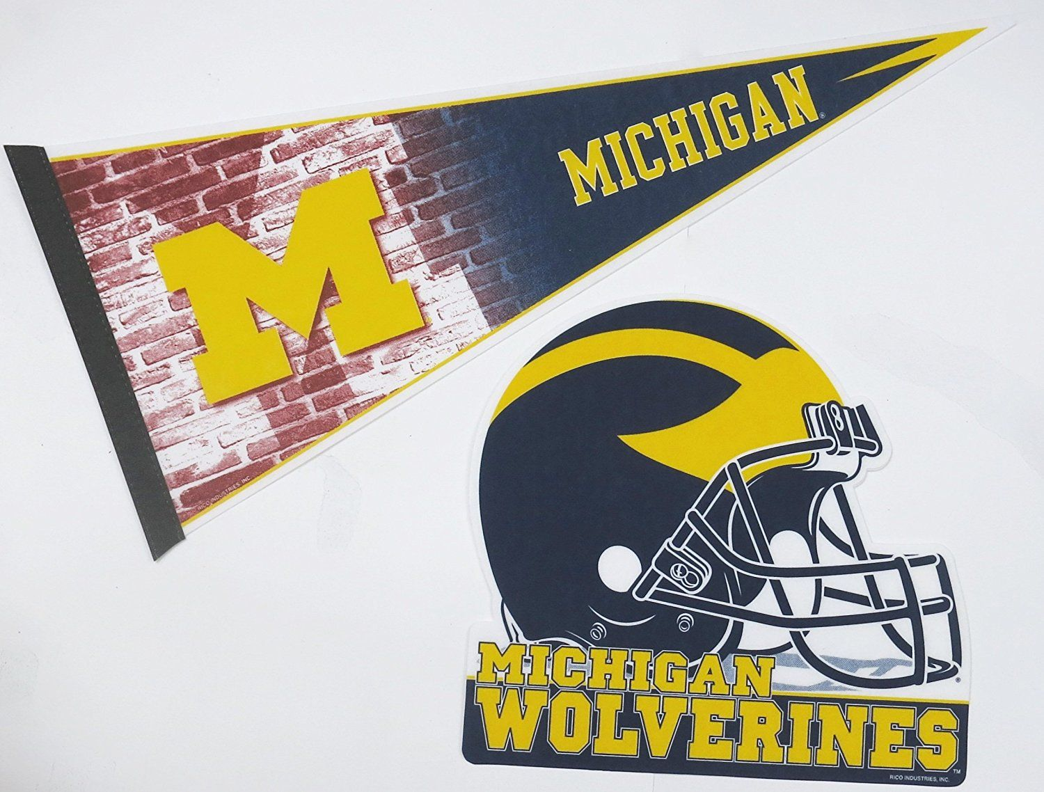 Michigan wolverines nfl wall decor one 17 x 30 large pennant michigan wolverines nfl wall decor one 17 x 30 large pennant design and 12 x 12 one helmet design be sure to check out this awesome product amipublicfo Image collections