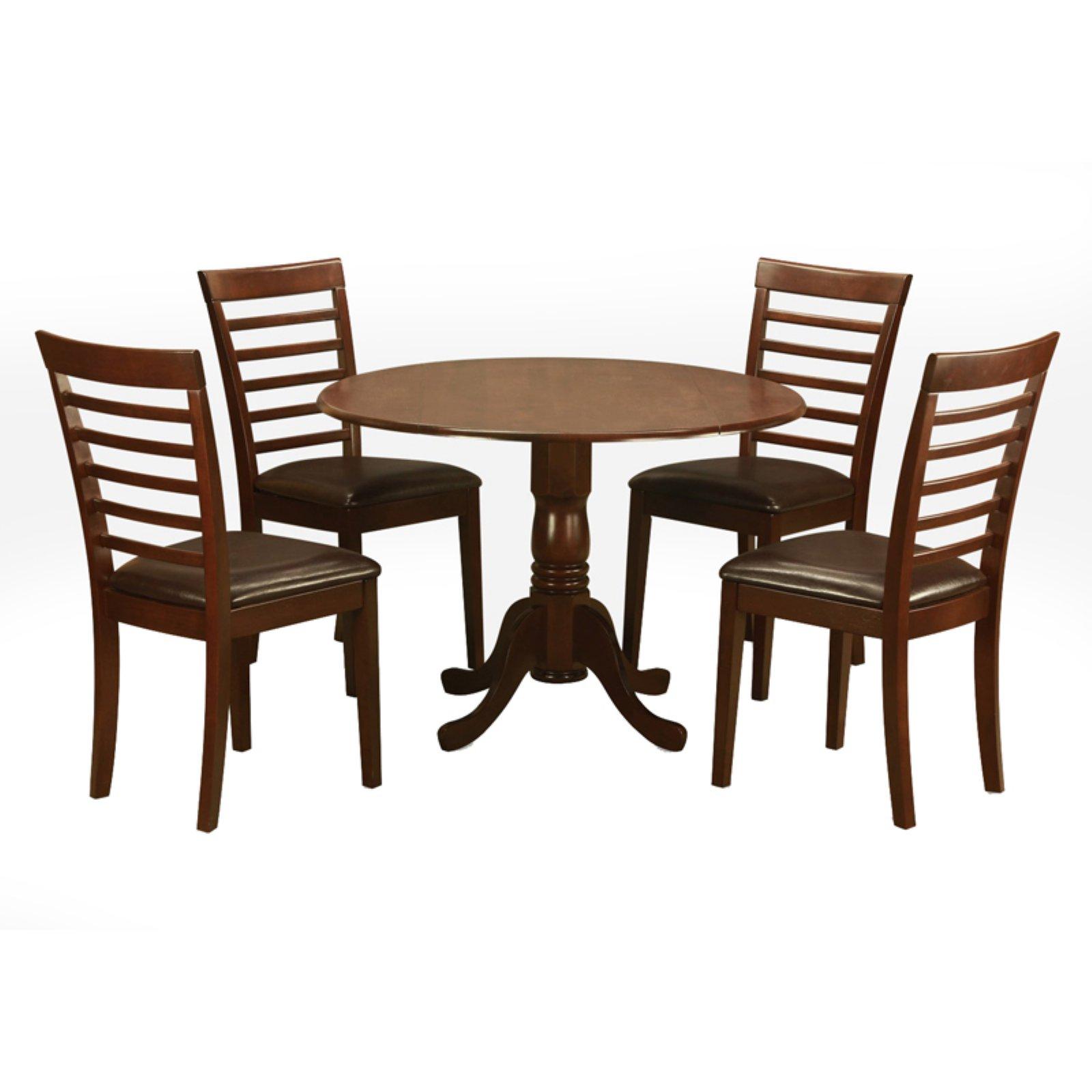 Groovy East West Furniture Dublin 5 Piece Dining Table Set With Creativecarmelina Interior Chair Design Creativecarmelinacom