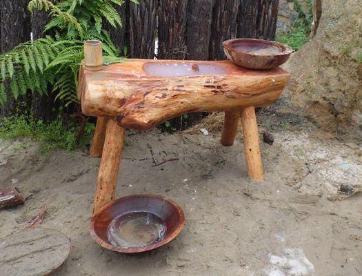 Outdoor Kitchen Sink Nature Play Nz Natural Play Spaces Outdoor Classroom Outdoor Kitchen Sink