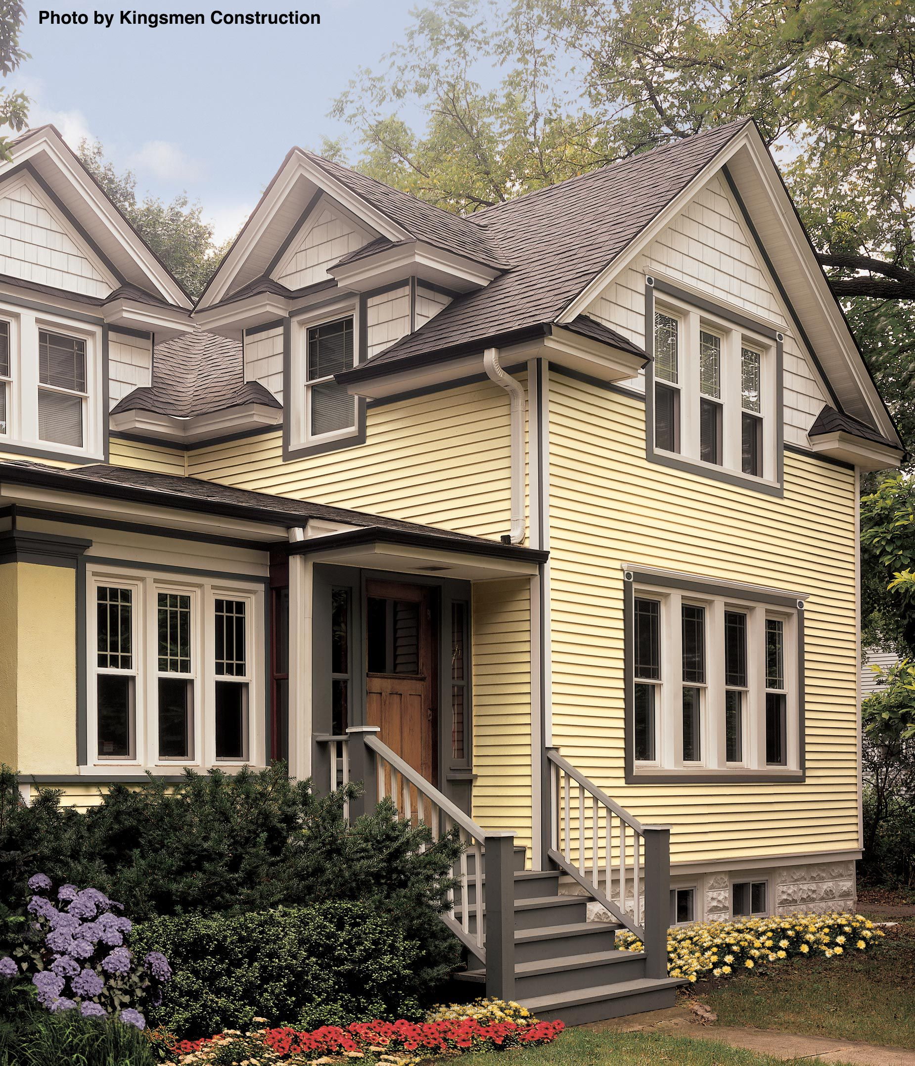 What Does Home Siding Really Do Yellow House Exterior Vinyl Siding Styles Siding Styles