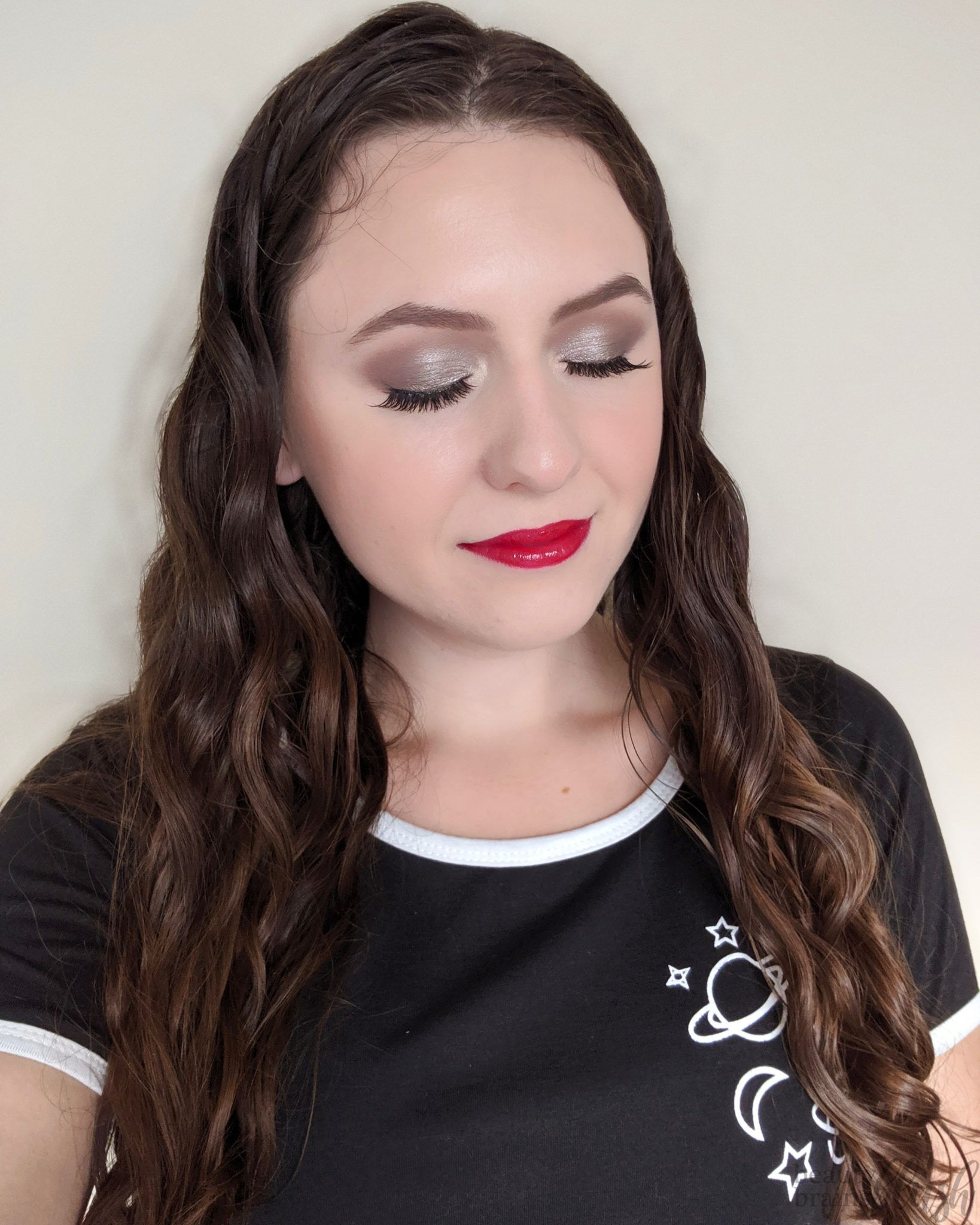 Cool Toned Glam Makeup Look Glam makeup look, Sultry