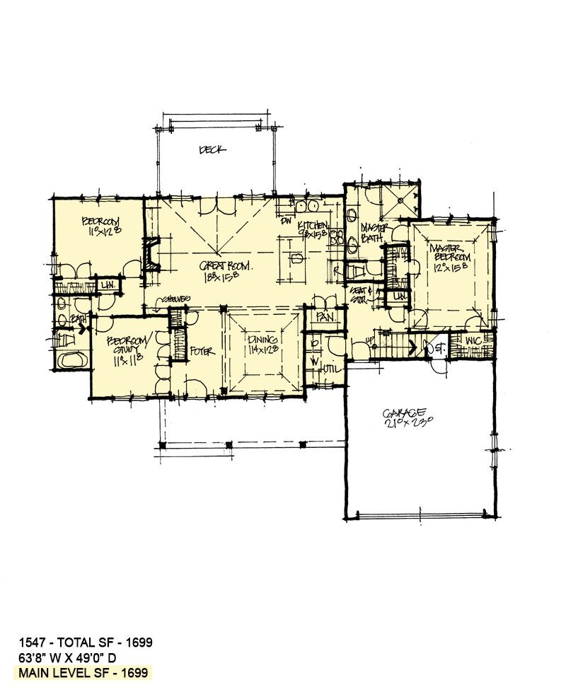 House Plan 1547 House Plans House Floor Plans How To Plan