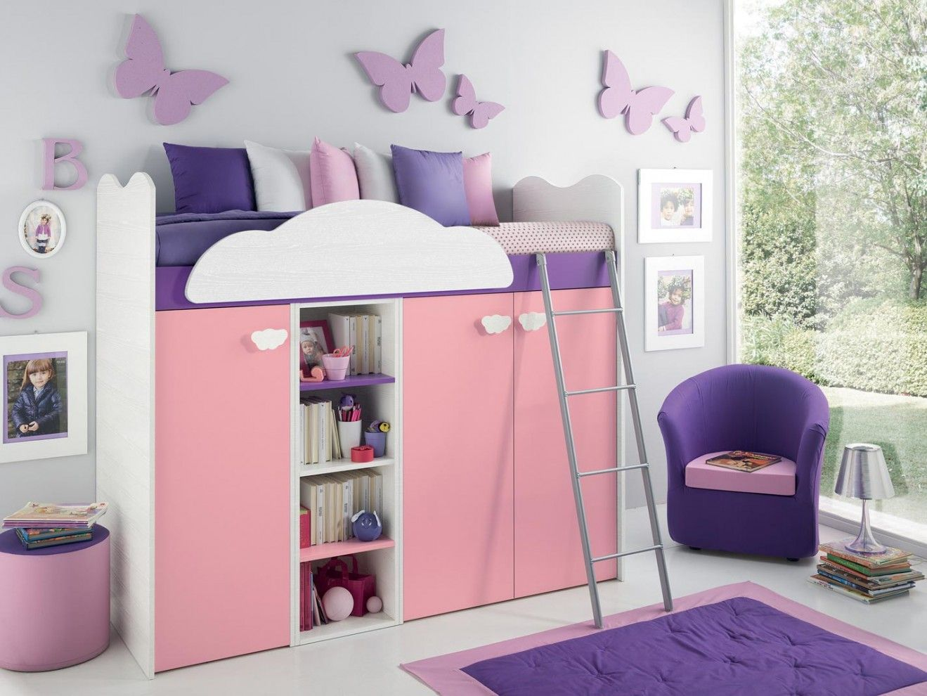Le camerette per ragazzi e ragazze girotondo offrono - Camere da letto bambina ...