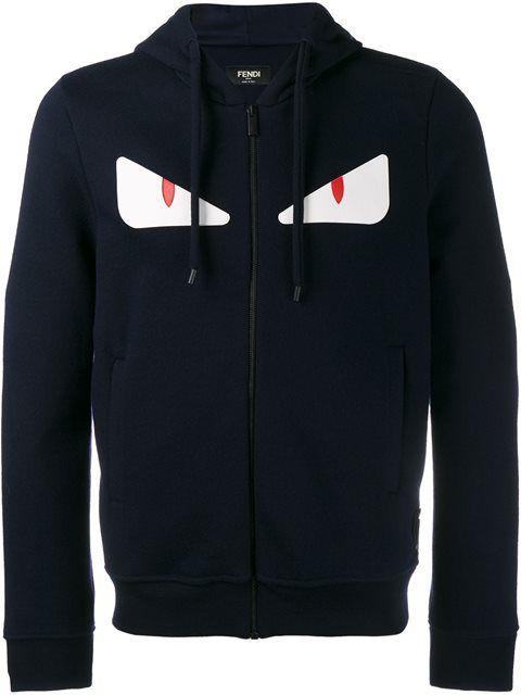 34b8b277c1 FENDI Bag Bugs Zip Hoodie. #fendi #cloth #hoodie | Fendi Men | Fendi ...