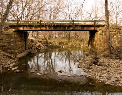 Bridgehunter.com | Valley Brook Creek Bridge