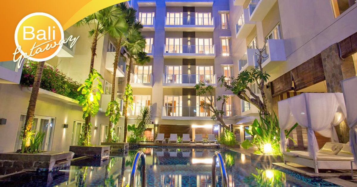 Grand Ixora Kuta Resort Styled In A Contemporary Design And Cared For By Our Superb Staff Our 4 Star Hotel Is A Tropical Treasu Bali Hotels Hotel Price Hotel