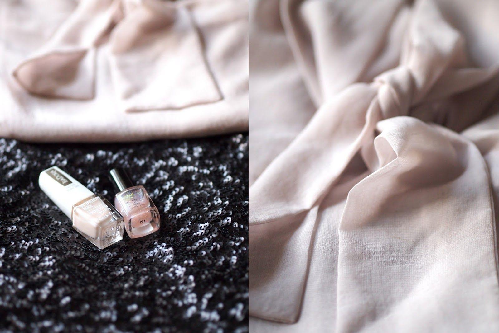 lili's: uudenvuoden glittervoittoinen asu