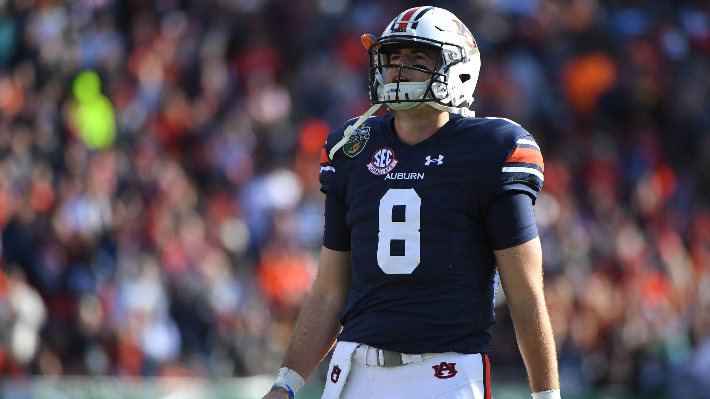 Patriots Pick Auburn Qb Jarrett Stidham In Fourth Round Of 2019 Nfl Draft Nfl Draft Auburn Nfl