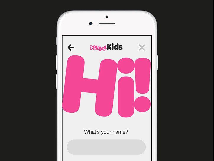 Movingbrands_iplayerkids_2 App design, Visual identity
