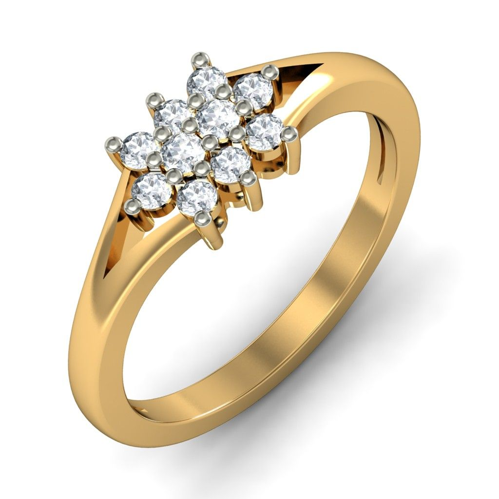 http://www.bluestone.com/rings/the-aether-ring~672.html  Inspired by the elegant, jewellery collection of your grandmom, this stunning ring features a beautiful cluster of precious stones set in an artistic arrangement on a smooth base. This ring re-affirms that some things will never go out of style.