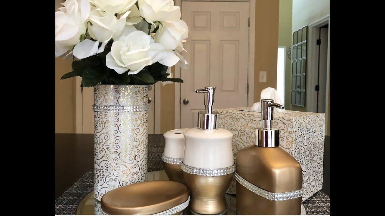 Dollar Tree Diy Glam Bathroom